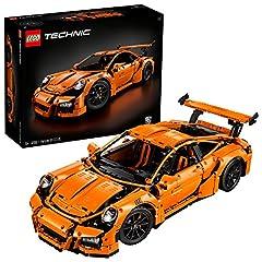Idea Regalo - LEGO Technic Porsche Gt Rs Costruzioni Piccole Gioco Bambina Giocattolo, Colore Vari, 42056