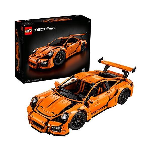 LEGO Technic Porsche Gt Rs Costruzioni Piccole Gioco Bambina Giocattolo, Colore Vari, 42056 1 spesavip