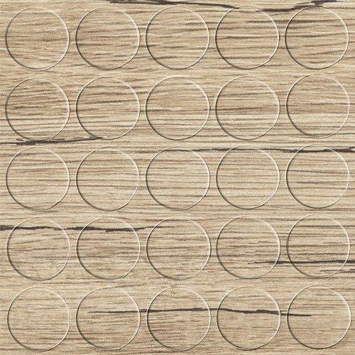 GleitGut Selbstklebende Abdeckkappen für Möbel - Durchmesser 14 mm - 25 Stück - Schrauben-Abdeckungen (Halifax-Eiche-Natur) - Eiche Nägel