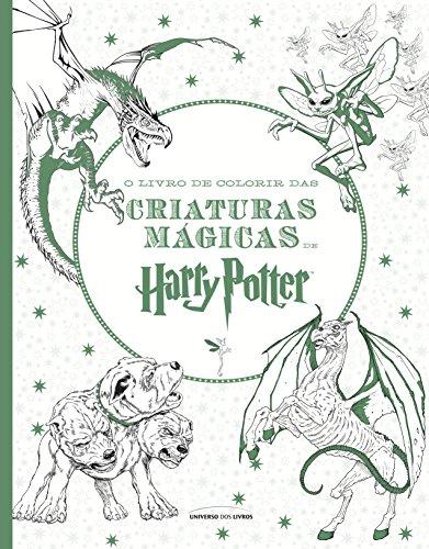 O Livro Colorir das Criaturas Mágicas Harry Potter