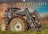 Landwirtschaft - Hightech und Handarbeit (Wandkalender 2018 DIN A3 quer): Die Arbeit mit landwirtschaftlichen Maschinen auf dem Bauernhof. ... [Kalender] [Feb 14, 2017] Roder, Peter