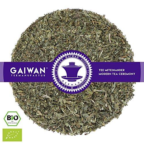 N° 1100: Tè alle erbe biologique in foglie'Nana Menta' - 100 g - GAIWAN GERMANY - tè verde menta, tisana alle erbe, tisane in foglia, tè bio, nana menta, tè dall'Egitto