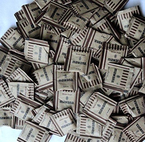 Mawana Brown Sugar Sachets – 200 Pcs