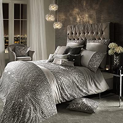Kylie Minogue ESTA Silver Luxury Bedding and Accessories, New SS17 range - cheap UK light shop.