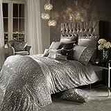 Kylie Minogue esta Plata Lujo ropa de cama y accesorios, nueva SS17gama, funda de edredón King