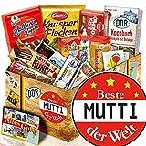 Beste Mutter Box - Süßigkeiten aus der DDR + Kultprodukte aus dem Osten