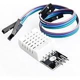 TeOhk DHT22 AM2302 Sensore di Temperatura e Umidit/à con Basso Consumo Energetico e Lunga Distanza di Trasmissione Caratteristiche per