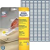 Avery Zweckform L4731REV-25 Universal-Etiketten (A4, 4,725 Etiketten ablösbar, 25,4 x 10 mm) 25 Blatt weiß