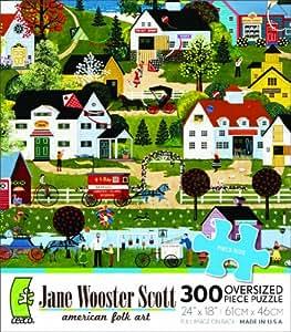 Ceaco Jane Wooster Scott Summer Wind Jigsaw Puzzle (300 Oversized Pieces)