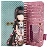 Gorjuss Rosie Long Wallet Many Card Slots Zip Coin Compartment 19x10cm
