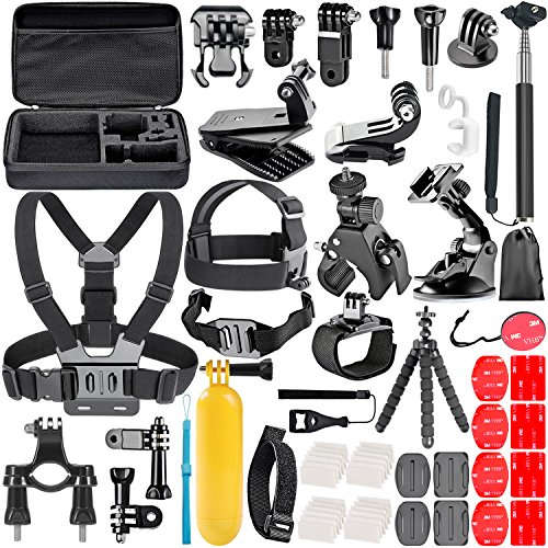 Neewer Kit de Accesorios 58-in-1 para Gopro Hero 6 5 4 3+...