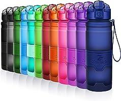 Bottiglia d'acqua sportiva senza BPA -riutilizzabile borraccia in plastica tritan 400ml/500ml/700ml/1l,bottiglie per...