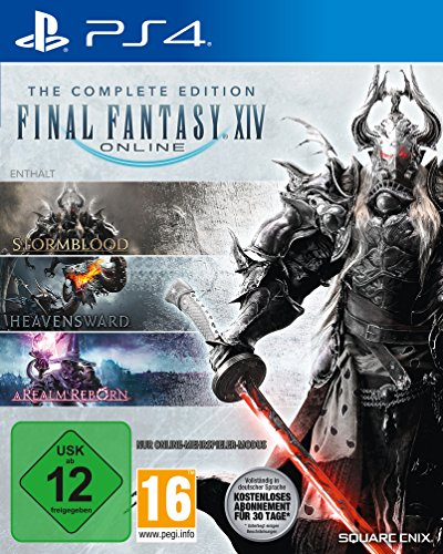 game time card Final Fantasy XIV Complete Edition [PS4]