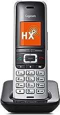 Gigaset S850HX Telefon - Schnurlostelefon / Universal Mobilteil - mit Farbdisplay - Dect-Telefon - schnurloses Telefon - VoIP - Router - kompatibel - platin