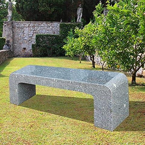 Jardín sueño Asiento banco de piedra natural–Evora, piedra gris
