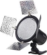 YONGNUO YN216 3200K-5500K Luce Video LED sparare fotocamera con 4 tavole a colori di Canon Nikon DSLR