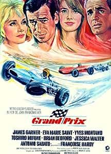 Grand Prix Affiche du film Poster Movie Grand prix (27 x 40 In - 69cm x 102cm) Spanish Style A