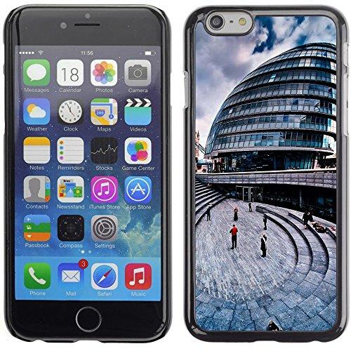 Graphic4You London Postkarte Ansichtskarte Design Harte Hülle Case Tasche Schutzhülle für Apple iPhone 6 Plus / 6S Plus Design #6