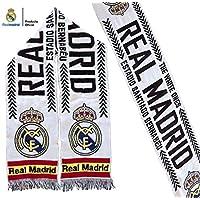 Bufanda Real Madrid – Blanca Santiago Bernabéu – España – Producto Oficial