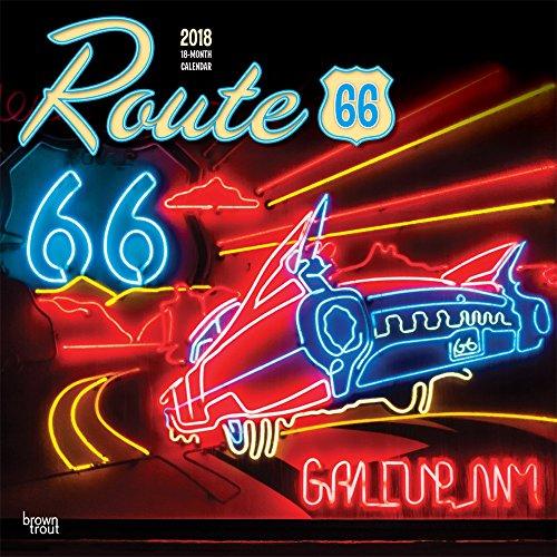 Route 66 2018 Wall Calendar