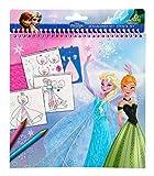 Undercover frqa2410-Post Manbag da dipingere Disney Frozen con 5Pennarelli