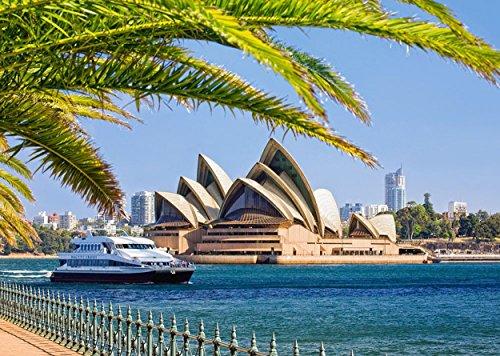 Puzzle 1000 Teile - Sydney Opera House - Oper / Opernhaus in Australien - Skyline Foto - Gebäude Stadt Stadtpuzzle