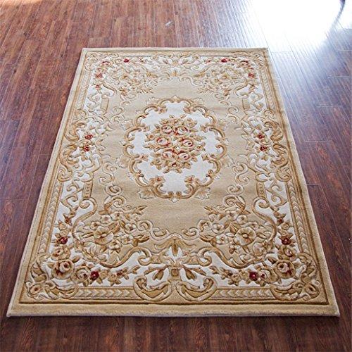 Europee e americane Tappeti stile, fatto a mano tridimensionale da letto classica Red Carpet 8 opzioni di colore del tappeto ( colore : G. , dimensioni : 0.8*1.2m )