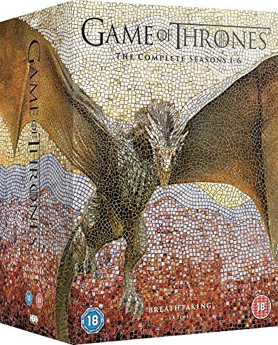 Game Of Thrones: The Complete Seasons 1-6 (30 Dvd) [Edizione: Regno Unito]