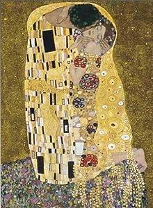 Editions Ricordi 2901N26015 - Puzzle de 1500 Piezas del Cuadro El Beso (con Purpurina) de Klimt