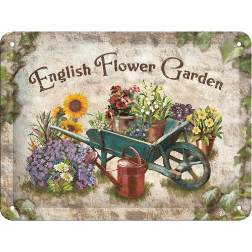 nostalgic-art-23121-home-und-country-english-flower-garden-blechschild-30-x-40-cm
