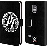 Official WWE P1 Aj Styles Leather Book Wallet Case Cover For Samsung Galaxy S5 mini