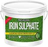 2.5kg PREMIUM DRY POWDER Iron Sulphate Tub PURE LAWN TONIC- Sulphate of Iron Lawn Conditioner and Moss Killer. Dry Powder easily soluble in water