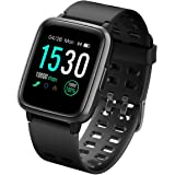 LATEC Pulsera Actividad Reloj Inteligente Impermeable IP68 Smartwatch Pantalla Táctil Completa con Pulsómetro Cronómetro Puls