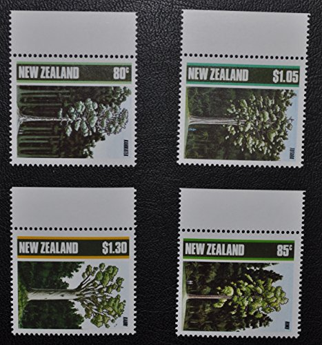un-lot-de-5-nouvelle-zelande-exposition-philatelique-auckland-1990-timbres