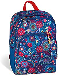 mochila escolar doble BLUE KASHMIR