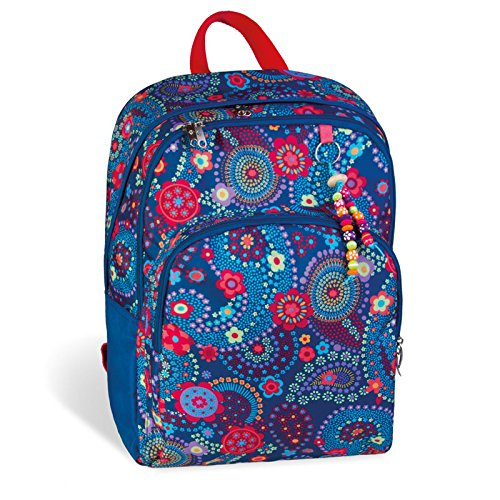 mochila escolar doble BLUE KASHMIR