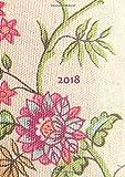dicker Tagebuch Kalender 2018 - Blumen: DIN A4 - 1 Tag pro Seite Bild