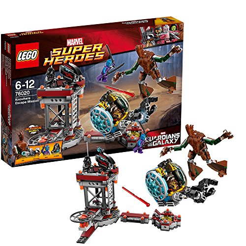 LEGO Super Heroes 76020 - Missione Fuga Senza Scampo