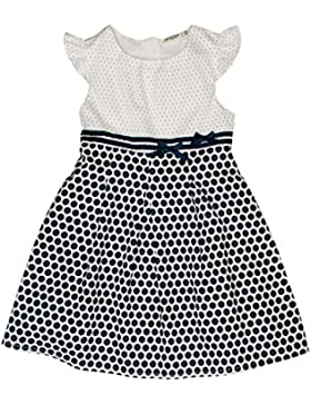 SALT AND PEPPER Mädchen Kleid Dress Blaue Punkte