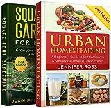 Backyard Gardening: Bundle: Book 1: Urban Homesteading + Book 2: Square Foot Gardening for Beginners (English Edition)