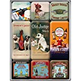 Nostalgic-Art 83015 Open Bar - Bier, Magnet-Set (9teilig)