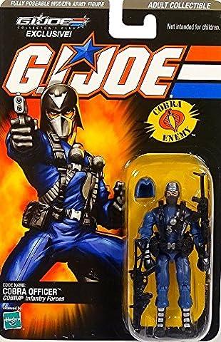 G.I. Joe Cobra Officer Cobra Infantry Forces GI Joe Collector`s Club Exclusive Figure 2008 von (Gi Joe Collectors Club)