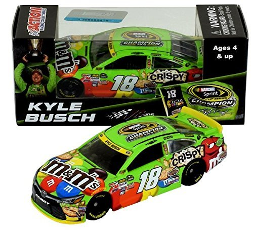 kyle-busch-2015-nascar-sprint-cup-champion-mms-164-diecast-car-by-lionel-racing