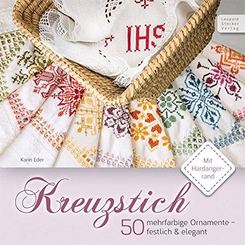 Kreuzstich: 50 mehrfarbige Ornamente - festlich & elegant