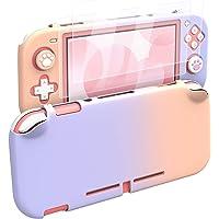 MoKo Custodia Protettiva, 2 Proteggi Schermo in Vetro Temprato, 4 Gommini Pulsanti Compatibile con Nintendo Switch Lite…