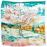 Prettystern P586-90cm Gemälde Printing Deko Halstuch - Van