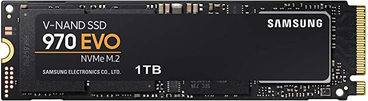 Samsung 970 EVO 1 TB SSD, NVMe M.2
