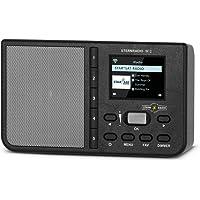 TechniSat STERNRADIO IR 2 - kompaktes Internetradio (WLAN, wechselbarer Akku, Farbdisplay, änderbare Direktwahltasten…