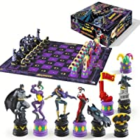 Batman-Dark-Knight-vs-Joker-Schachspiel-Standard