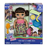 Baby Alive - Miam Miam Les Bonnes Pates - Poupee Cheveux Bruns - Parle en français